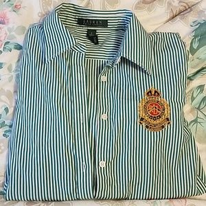 Ralph lauren striped button up